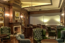 The Whisky Library of hotel Imperial in Plovdiv